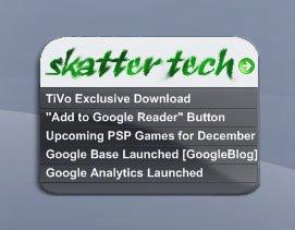 Skatter Tech Widget