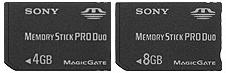 Sony Memor y Stick Pro Duo