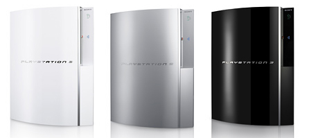 PlayStation 3 Colors