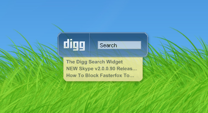 Digg Search Widget v1.70