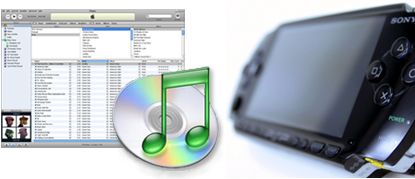 iTunes To PSP