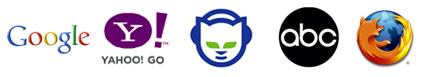 Google | Yahoo | ABC | Napster | Firefox