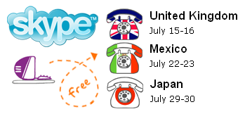 Free Skype International Calls