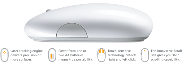 Apple Bluetooth Mighty Mouse