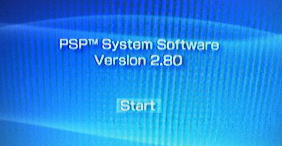 PSP Firmware v2.80