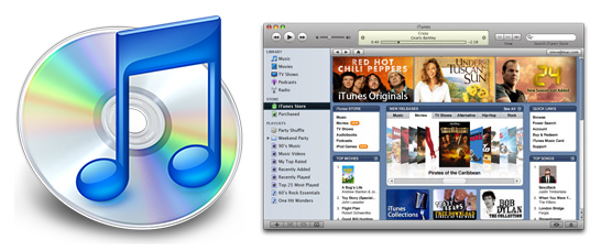 Apple iTunes v7.0.1