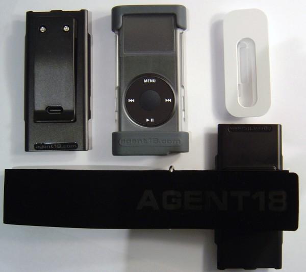 Agent 18 Case - Extras