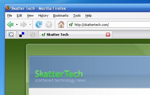 Minimize Firefox Tabs