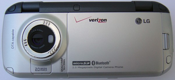 LG VX9900 - Back