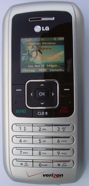 LG VX9900 - Front