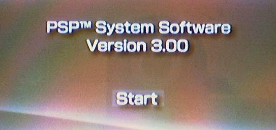 PSP v3.00 Install