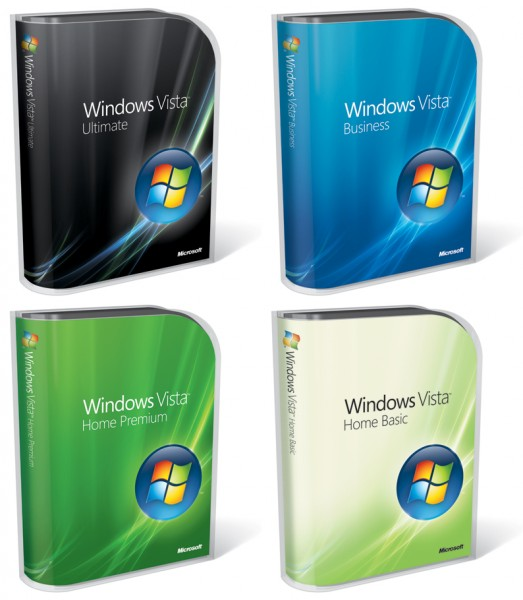 Windows Vista - Boxes