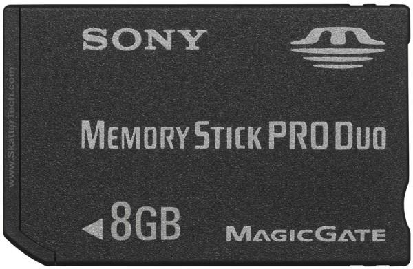 8GB Memory Stick Pro Duo