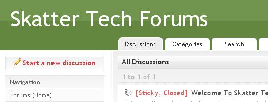 Skatter Tech Forums