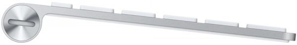 Apple Wireless Keyboard - Side