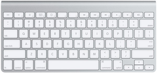 Apple Wireless Keyboard - Top