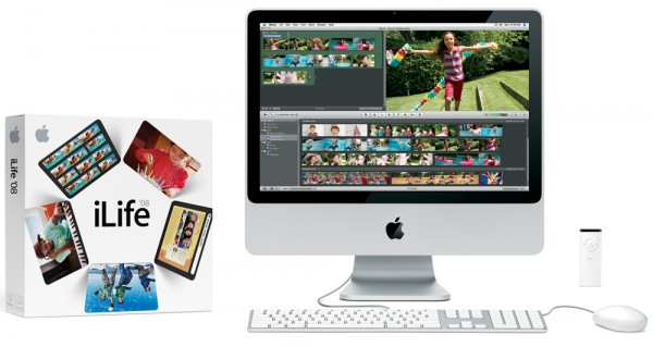Apple iLife and iMovie on iMac