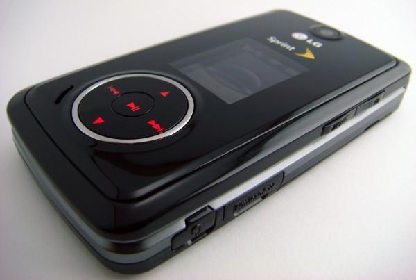 LG Muziq (LX-570) - Front