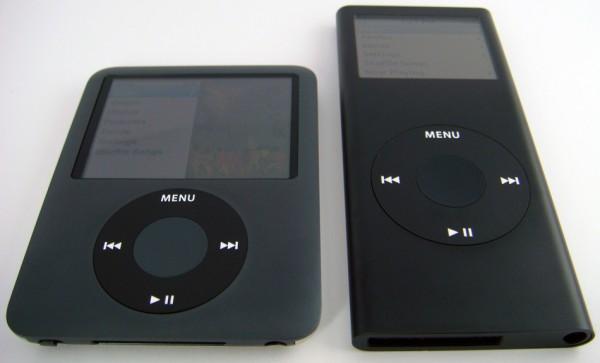 Apple iPod Nano 3G vs. 2G