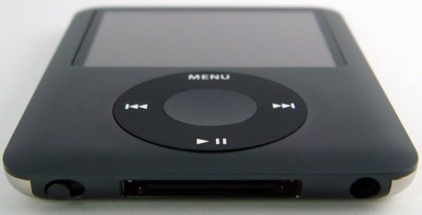 Apple iPod Nano (3G) Bottom