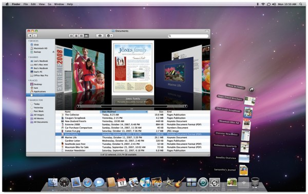 Mac OS X Leopard ScreenShot
