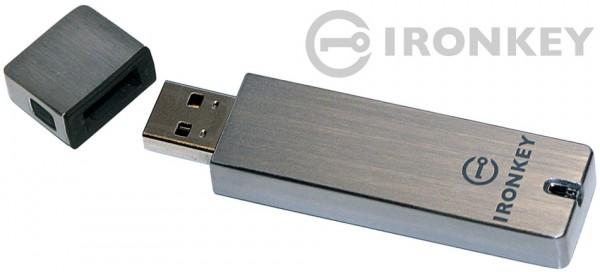 IronKey: Hardware Encrypted Flash Drive