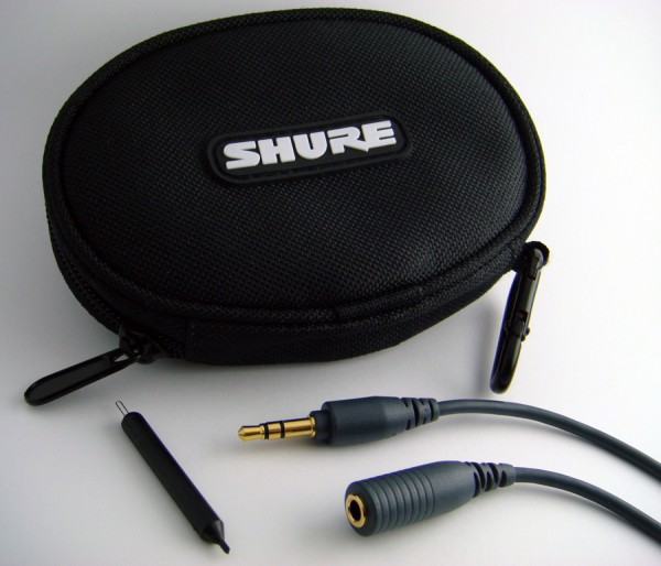 Shure SE110 Earphones Accessories