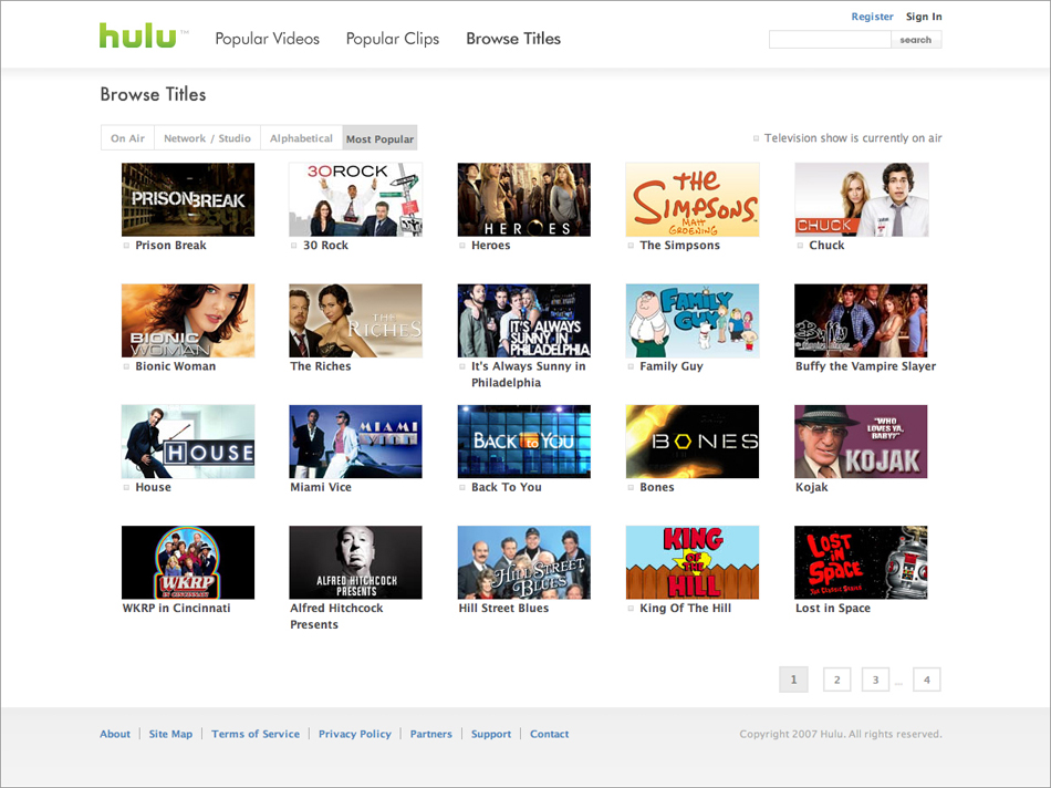Hulu – Watch TV Shows For Free (Review) | Skatter