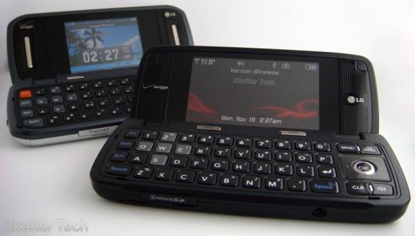 LG VX10000 vs. LG VX9900