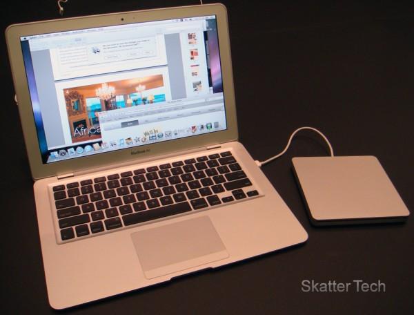 MacBook Air - Opened