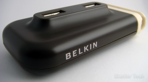 Belkin USB Plus 4-Port Hub - Front