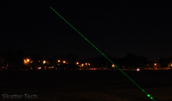 Wicked Lasers Nexus 95mW Demo