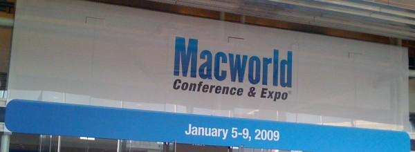 MacWorld 2009 Banner