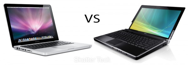 Apple MacBook Pro 13 vs. Dell Studio XPS 13