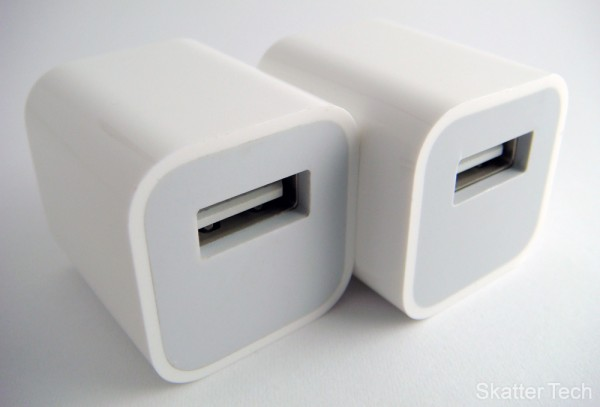 Apple USB Power Adapter vs Ultra-Mini USB Charger