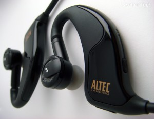 Altec-Lansing Earphones Angle