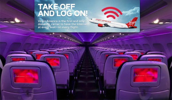 Virgin America Google WiFi