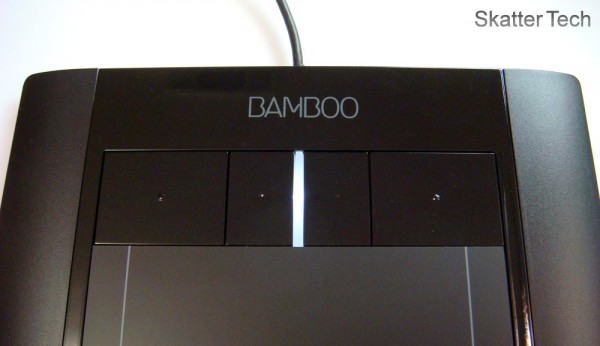 Wacom Bamboo Tablet Buttons