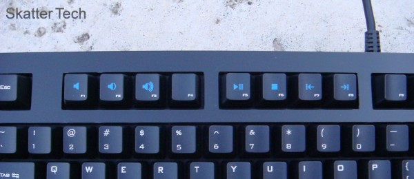 Das Keyboard Model S Professional: Media Keys