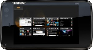 Nokia N900 Front