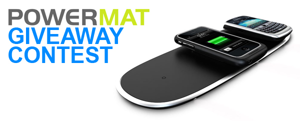 Powermat Giveaway Contest