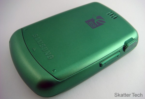 Samsung Reclaim - Back