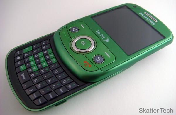Samsung Reclaim - Keyboard