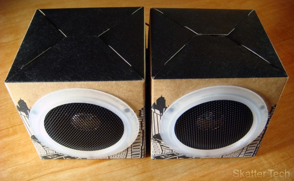OrigAudio Eco-Friendly Speakers