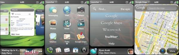 Palm Pixi: WebOS