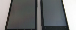 HTC EVO 4G vs. Droid Incredible (Front)