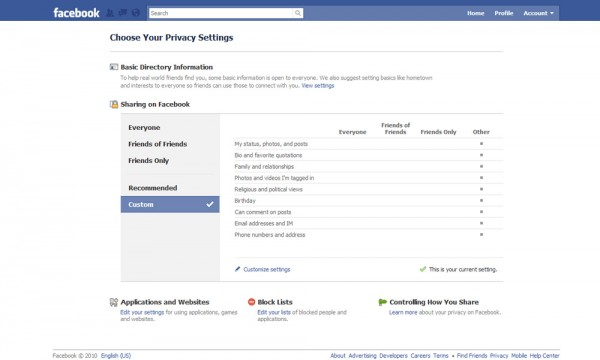 facebook managing your privacy for their Facebook makes the news every now and  vendor management program in your organization, please contact our privacy and security  vet your vendors for their.