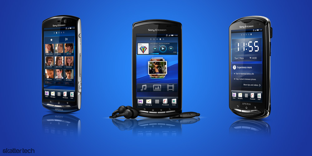 MWC 2011: Sony Ericsson Announces 3 New Android Smart ...