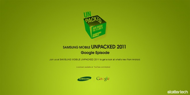 "Samsung Mobile Schedules An Unpacked ""Google Episode ..."