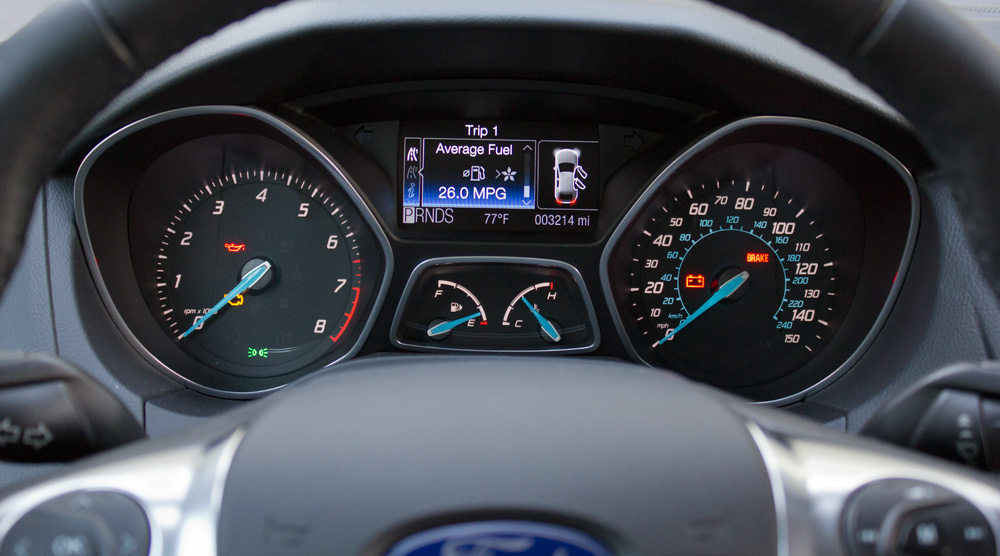 Ford Focus Instrument Panel Light Pictures